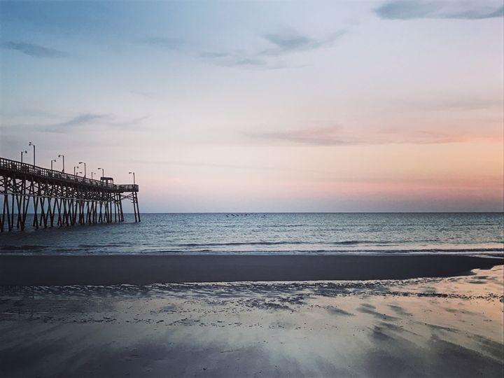 Beach at sunset - K. Herring