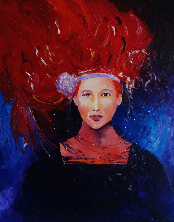 Ginger - ART BY VALIA