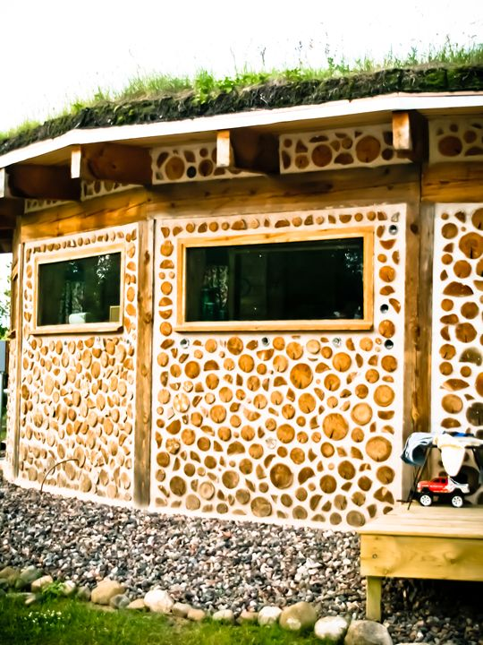 Cordwood Home - TerraScapes Fine Art and Photography