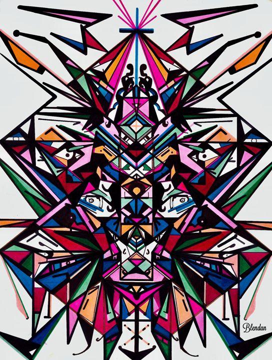 ISHAMBA 1 - Blendan Art