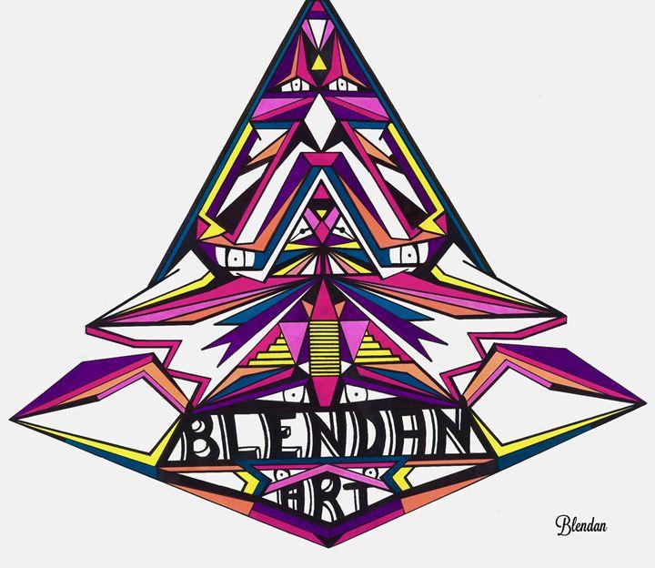 LOGO BLENDAN ART 1 - Blendan Art