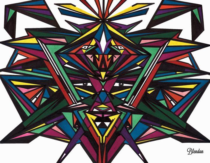 ANOUKAYA 1 - Blendan Art