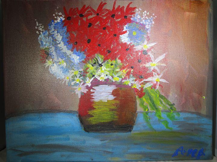 Floral Bouquet - Anne's Art Boutique