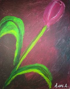 Acrylic Tulip