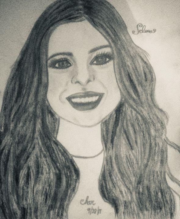 Selena - Charlee's Drawing