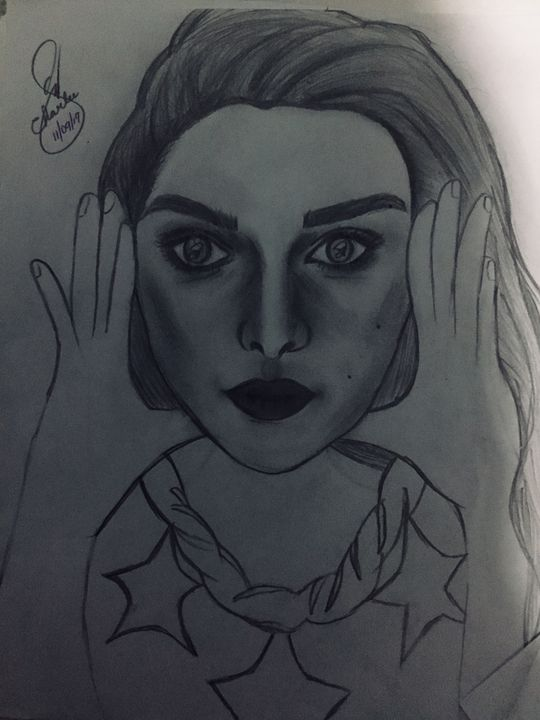 Emilia Clarke - Charlee's Drawing