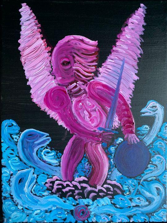 an tormented Angel - +dieKreuzung+