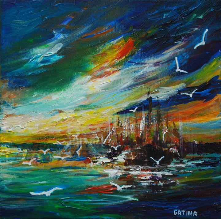 Harbor - Elvira Gatina's Gallery