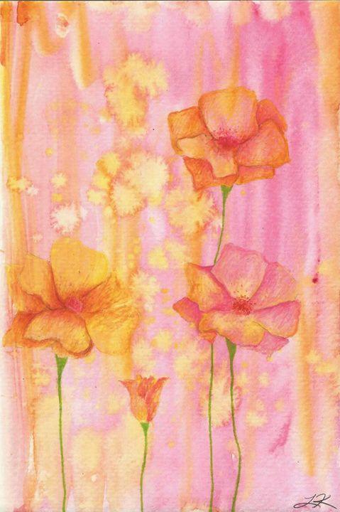 Poppies - Lindsey Raena Art