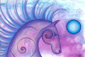 Spiral Horse