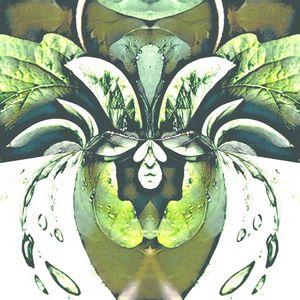 Green Waterdrop Flower Vase