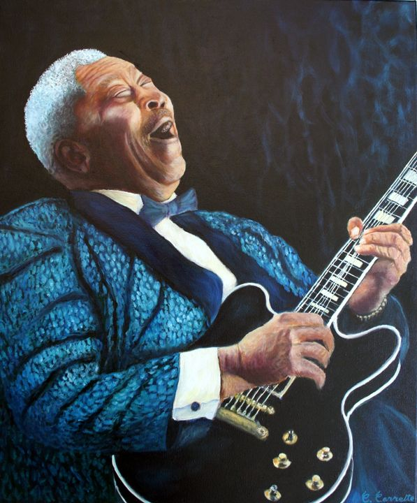 BB King - Frenchart