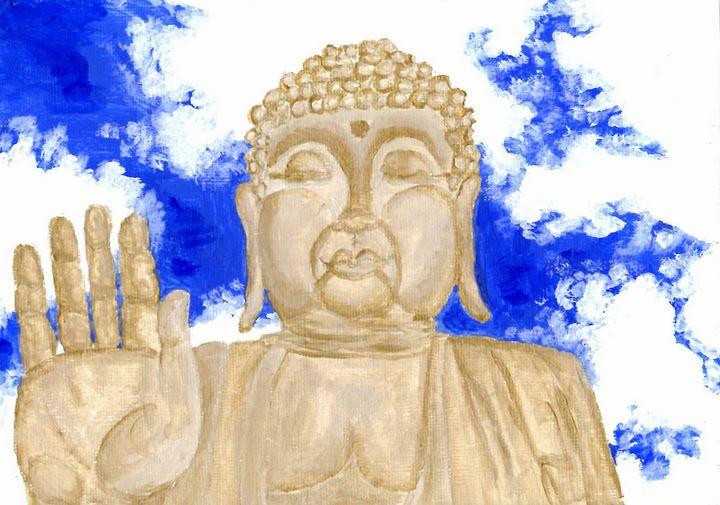 Golden Buddhist - Briann.art