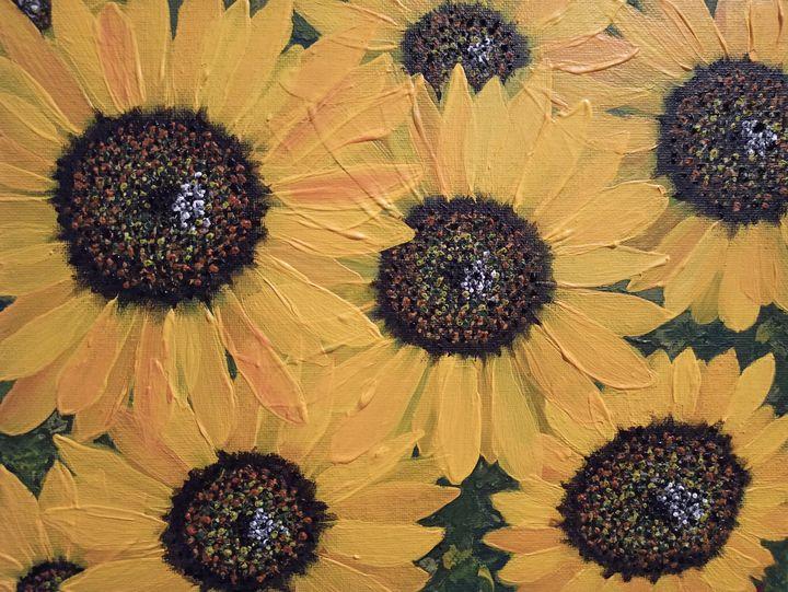 Sunflowers glory - Iail Ioannidou