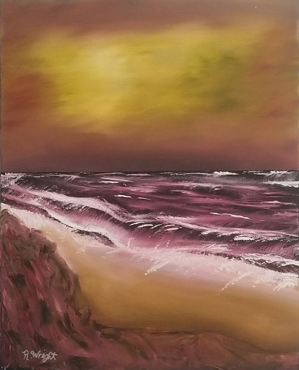 Dark Shore - Oil Paintings by R. Wright