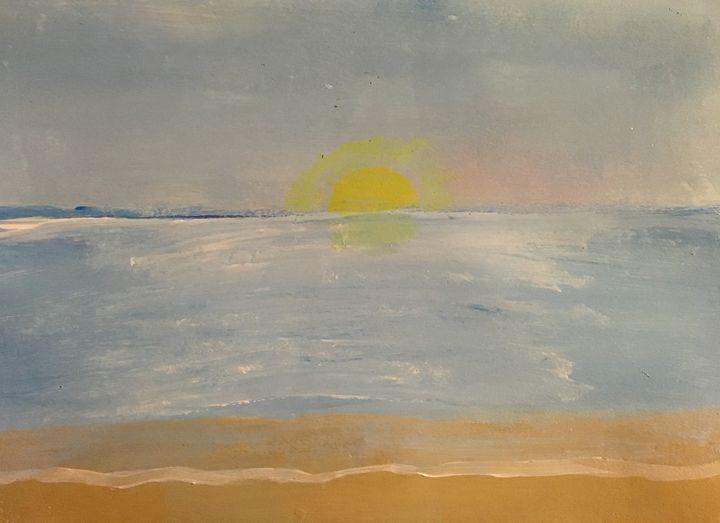 Beach - Acrylics