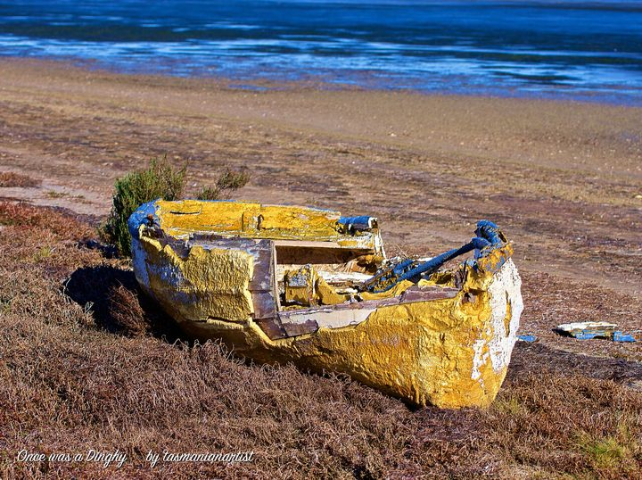 Wreck: Dinghy - tasmanianartist D1g1tal-M00dz