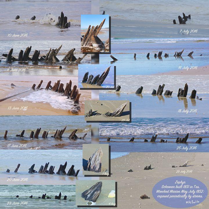 Collage of Wreck Zephyr - tasmanianartist D1g1tal-M00dz