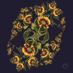 Sunflower Fractal Twist