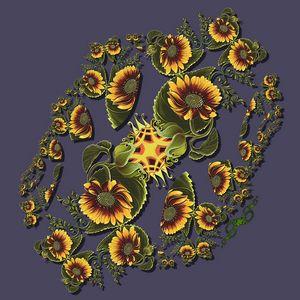 Sunflower Fractal Twist Variation