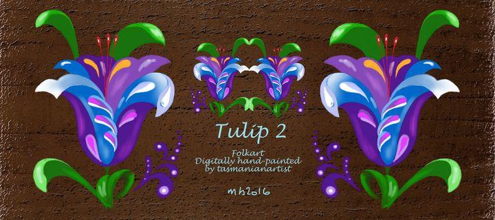 MUG - Tulip 2 - tasmanianartist D1g1tal-M00dz