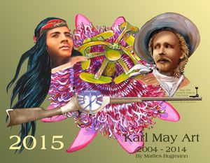 Karl May Art Calendar 2015