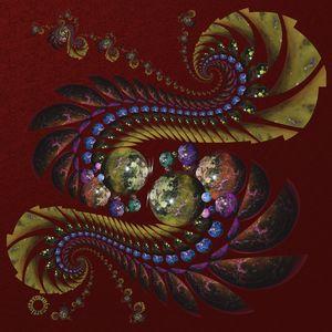 OT Fractal with Spheres 4