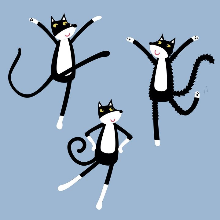 Dancing Cats - Nic Squirrell