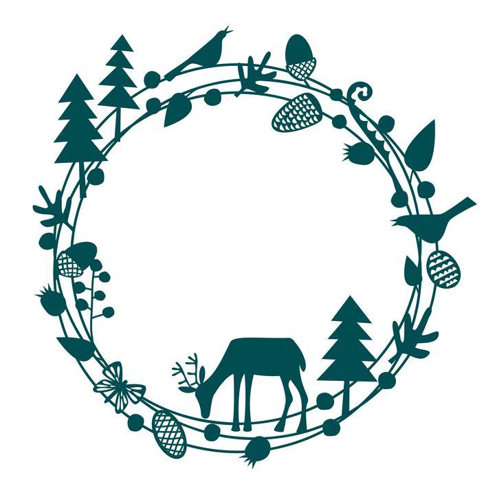 Deer Circle - Nic Squirrell