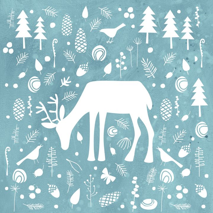Deer in the Woods - Nic Squirrell