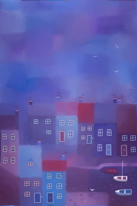 Devon Evening - Nic Squirrell
