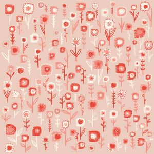 Ditsy Pink Flowers - Nic Squirrell