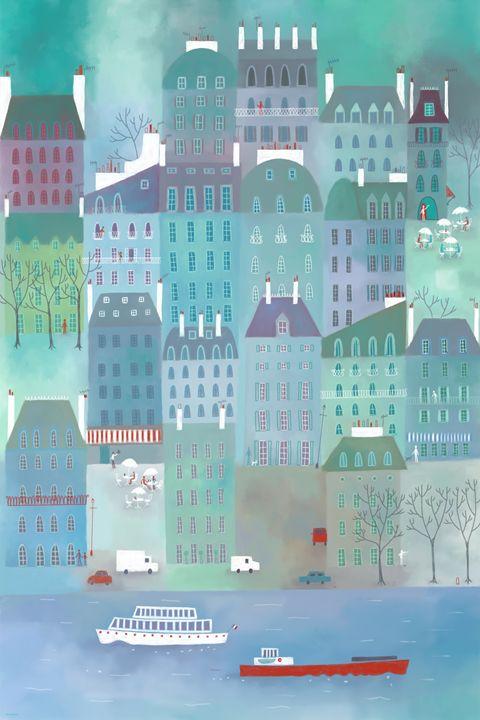 Paris Blues - Nic Squirrell