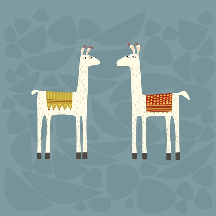 Llovely Llamas - Nic Squirrell
