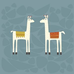 Llovely Llamas - Nic Squirrell