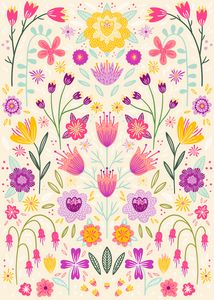 Floral Symmetry - Nic Squirrell