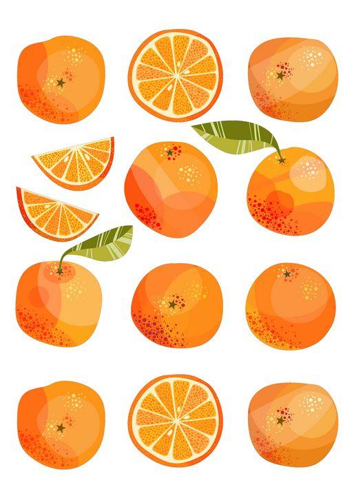 Oranges - Nic Squirrell