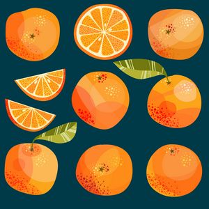 Oranges in the Dark - Nic Squirrell