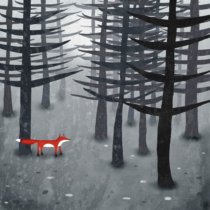 The Fox and the Forest - Nic Squirrell