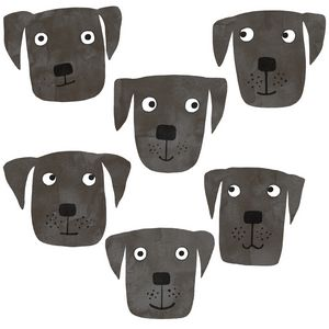 Black Labrador Retriever Dogs - Nic Squirrell