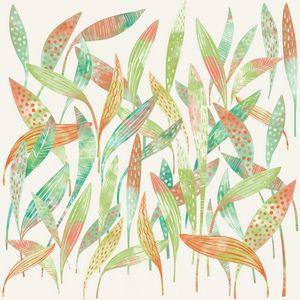 Hosta Leaves Watercolor - Nic Squirrell