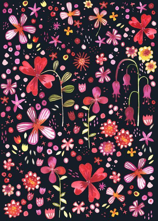 Overgrown Garden Dark - Nic Squirrell