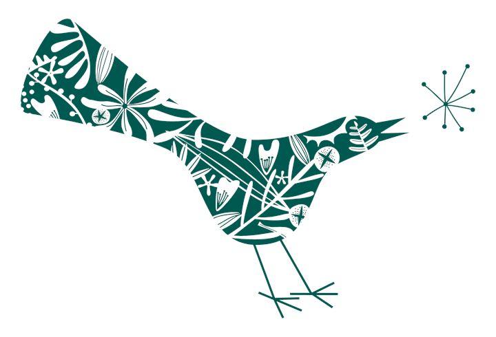 Flower bird - Nic Squirrell