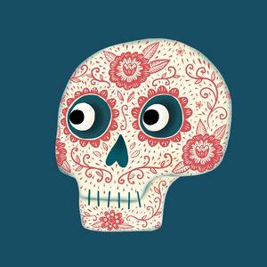 Dia de los Muertos Sugar Skull - Nic Squirrell