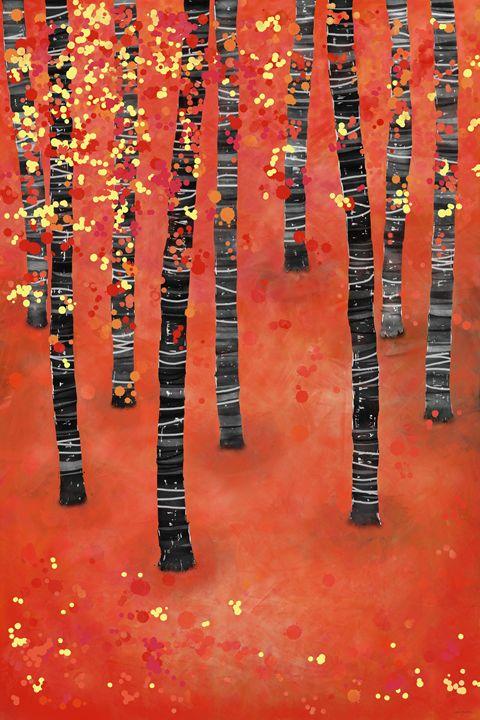 Birches - Nic Squirrell