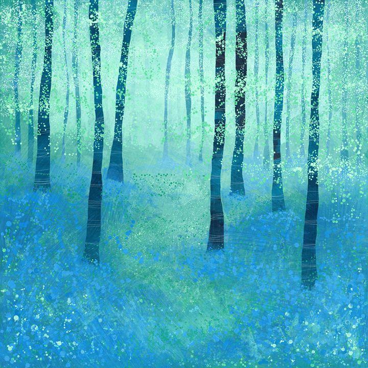 Bluebells, Challock - Nic Squirrell