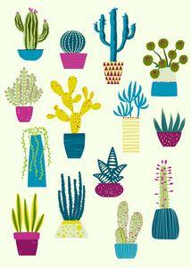 Cactus Garden - Nic Squirrell
