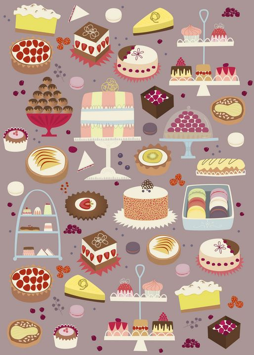 Cakes - Nic Squirrell