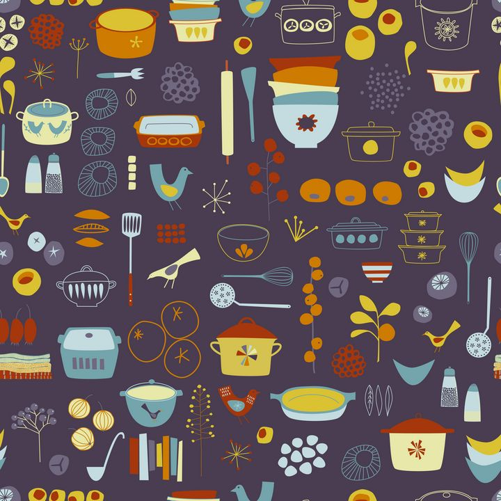 Vintage Kitchen - Nic Squirrell