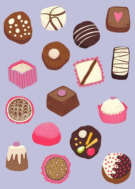Chocolates - Nic Squirrell